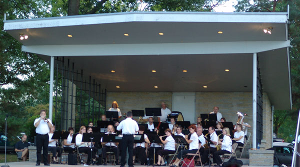 Lincoln Municipal Band - Antelope Park
