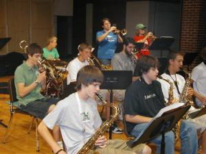 Nebraska Jazz Camp Students